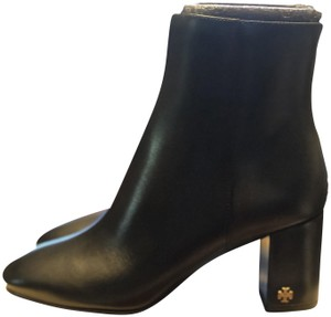 Tory Burch Brooke Leather Black Boots