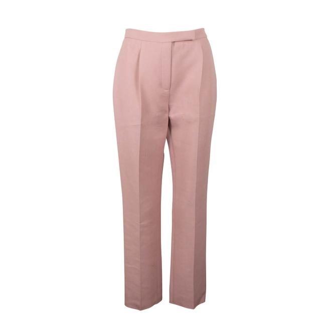 Item - Pink Wool Blend Tapered Trousers Pants Size 2 (XS, 26)