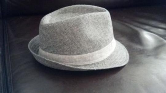 Gap Gap Two Tone Gray Textured Fedora