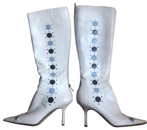 Jimmy Choo white Boots
