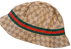 Gucci Gucci Vintage Monogram Bucket Hat Classic