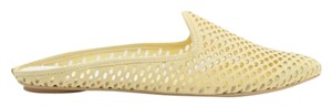 Dolce Vita Spring Mule Leather Yellow Flats