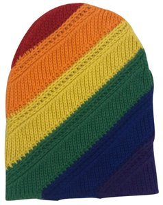 Burberry Burberry rainbow pride scully beanie hat
