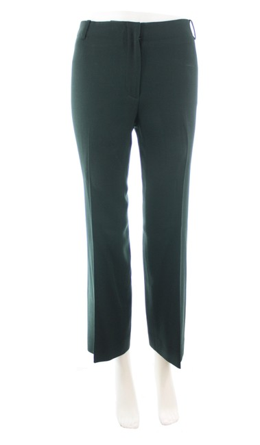 Item - Green Vintage Dark Straight Leg Wool Pants Size 2 (XS, 26)