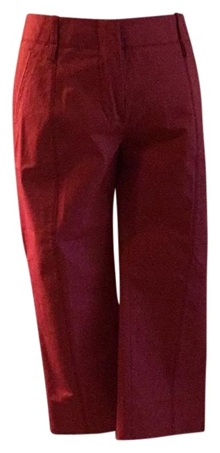 Item - Red Crop Pants Size 4 (S, 27)