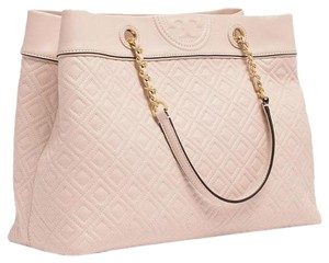 Tory Burch Fleming Triple Compartment 48893 Large Tote Shoulder Bag
