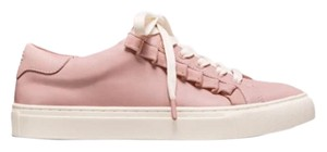 Tory Burch Ruffle Leather Sneakers Sport shell pink Athletic