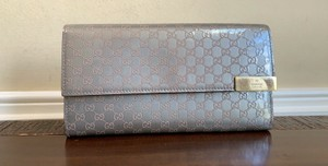 Gucci Shiny Microguccissima Leather Continental Bifold Wallet 291099