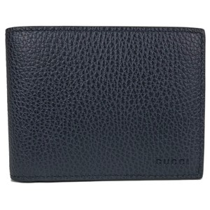 Gucci NEW GUCCI 333042 Men's Leather Embossed Logo Bifold Wallet