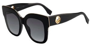Fendi FENDI SUNGLASSES FF 0359/G/S 0807 Black (9O Dark Gray Gradient)