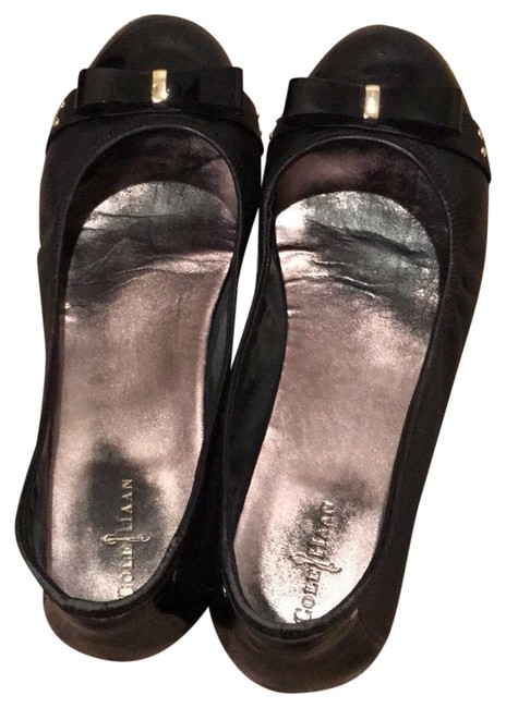 Item - Black Ballet with Nike Technology Flats Size US 10 Regular (M, B)