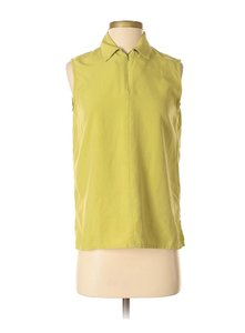 City Silk Top Green