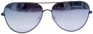 MCM MCM 117S - 069 DARK RUTHENIUM MIRRORED SUNGLASSES