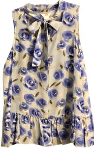 Joe Fresh Top Blue Floral