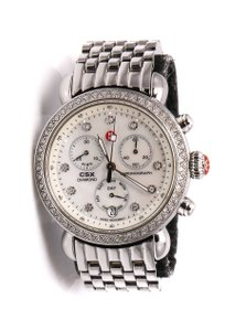 Michele CSX Diamonds Chronograph Watch