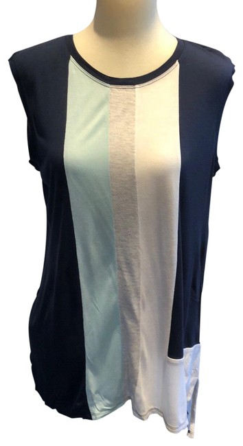 Item - Navy Rayon Hi Low Hem Tank Top/Cami Size 8 (M)