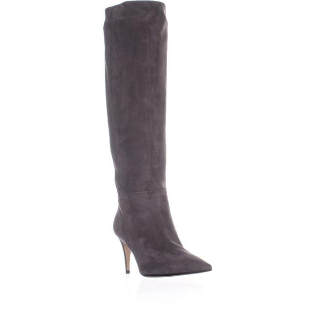 Item - Grey A78990 Pointed Toe Knee High Boots/Booties Size US 10.5 Regular (M, B)