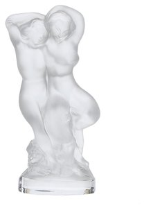 Lalique Lalique Nude Couple Frosted Crystal Figurine (7630)