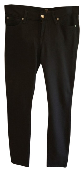 Item - Dark Rinse The Skinny Black Jeggings Size 28 (4, S)