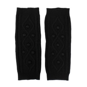 RED Valentino Cable Knit Wool Blend Sock Warmer