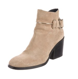 Balenciaga Luxury Chunky Suede Fall Gold Hardware Camel Boots