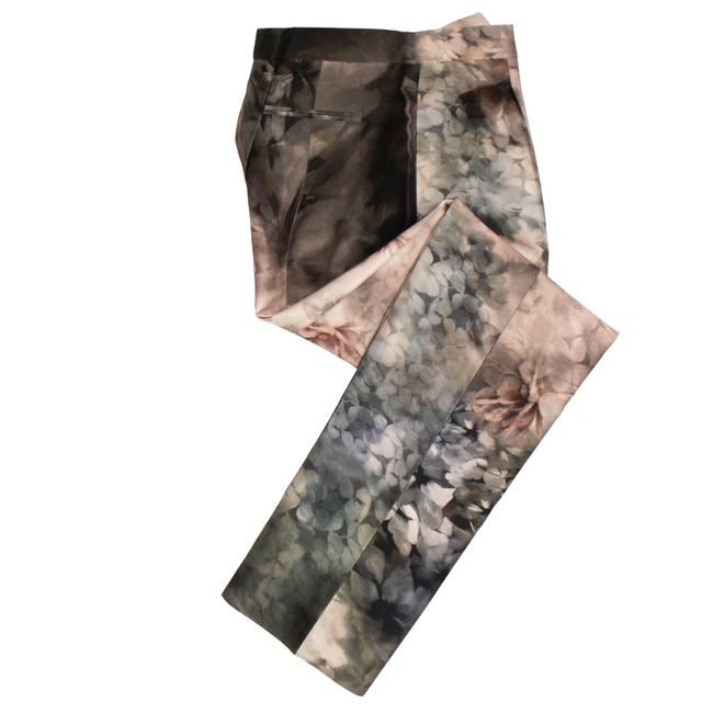 Item - Pink Cotton Floral Tailored Pants Size 8 (M, 29, 30)