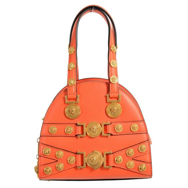 Item - Tribute Women's Handbag Orange Leather Shoulder Bag