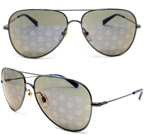 MCM MCM 117S 045 Gold / Brown Aviator Sunglasses