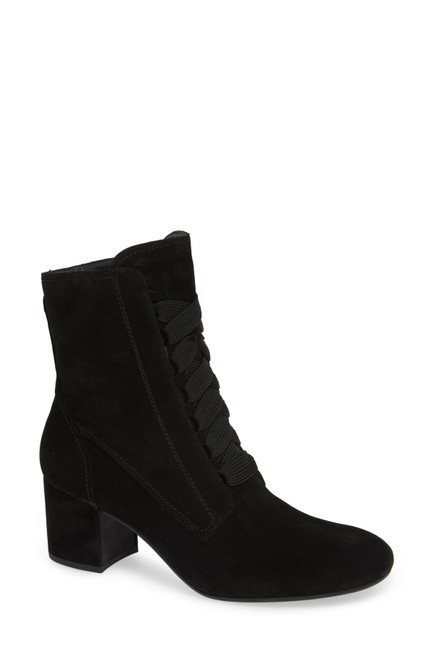 Item - Black Tracy Sneaker Lace-up Combat Suede (B14) Boots/Booties Size US 7 Regular (M, B)