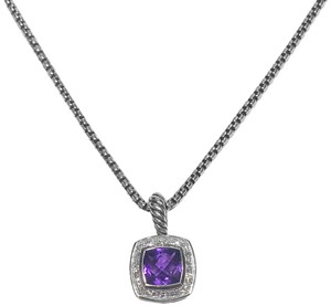 David Yurman Chatelaine With Amethyst and Diamonds