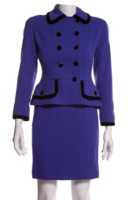 Item - Purple Vintage 36 Skirt Suit Size 4 (S)