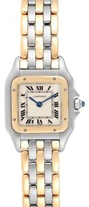 Cartier Cartier Panthere Ladies Steel Yellow Gold 3 Row Ladies Watch W25029B6