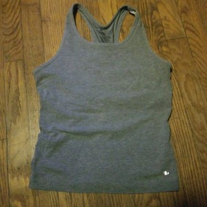 Athletic Works Gray racerback
