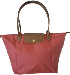 Longchamp Le Pliage Tote in Pink