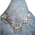 J.Crew J.Crew Rhinestone Necklace in Vintage Gold