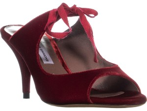 Tabitha Simmons Red Mules