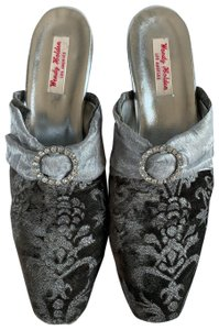 Wendy Holden Grey Mules