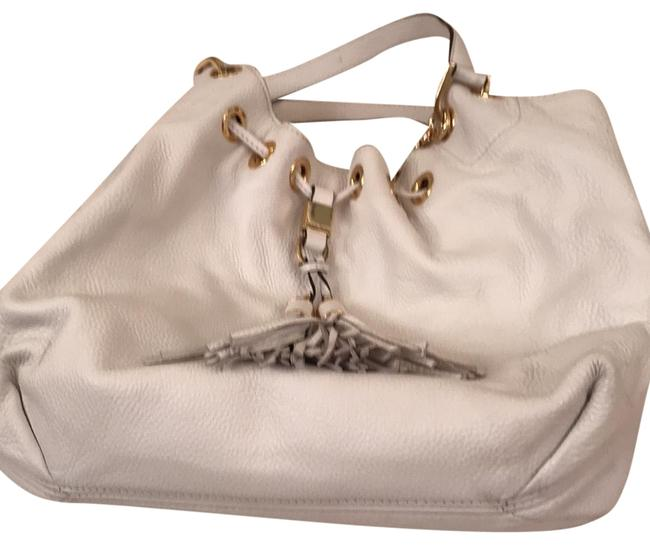 Item - Hobo White Leather Tote