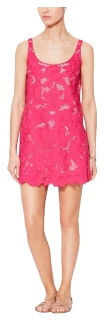Preload https://item1.tradesy.com/images/kasper-pink-floral-lace-shift-night-out-dress-size-4-s-2609575-0-0.jpg?width=400&height=650