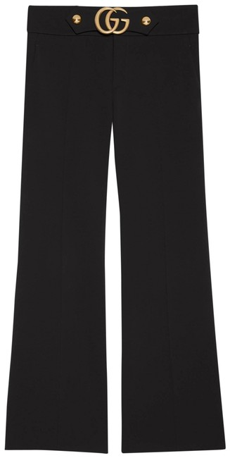 Gucci Black Gr Stretch Viscose with Double G Pants Size 8 (M, 29, 30) Gucci Black Gr Stretch Viscose with Double G Pants Size 8 (M, 29, 30) Image 1