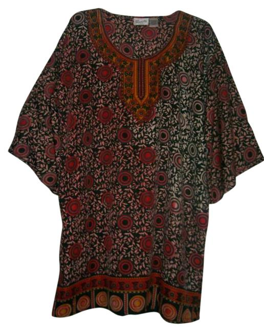 Preload https://item2.tradesy.com/images/black-red-gold-white-lounge-tunic-size-12-l-260976-0-0.jpg?width=400&height=650