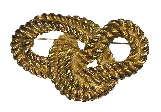Item - Gold Knotted Rope Pin