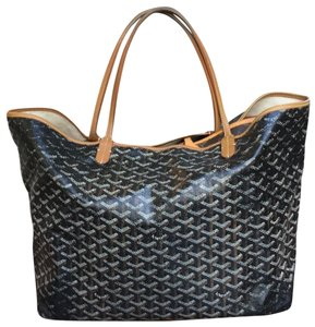 Goyard Tote in Black/Brown