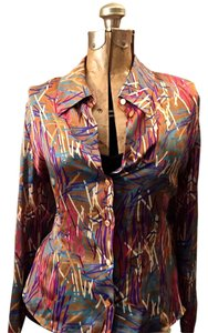 Emanuel Ungaro Silk Color Top yes
