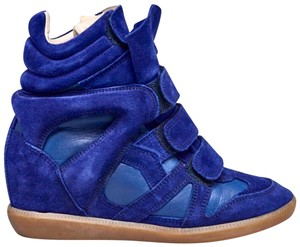Isabel Marant Blue Wedges
