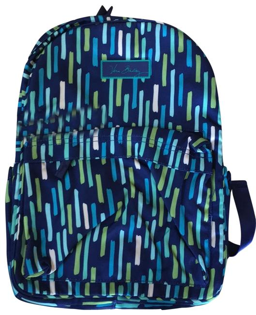 Item - Blue Terry Cloth Backpack