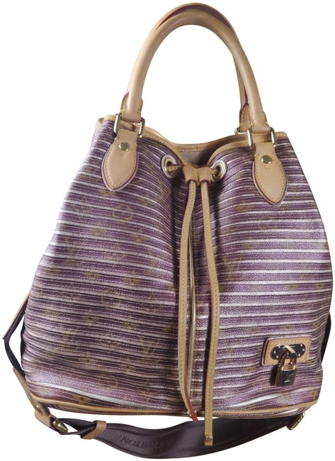 Item - Eden Neo Excellent Lv Sold Out Limited Brown Strap Canvas and Leather Satchel