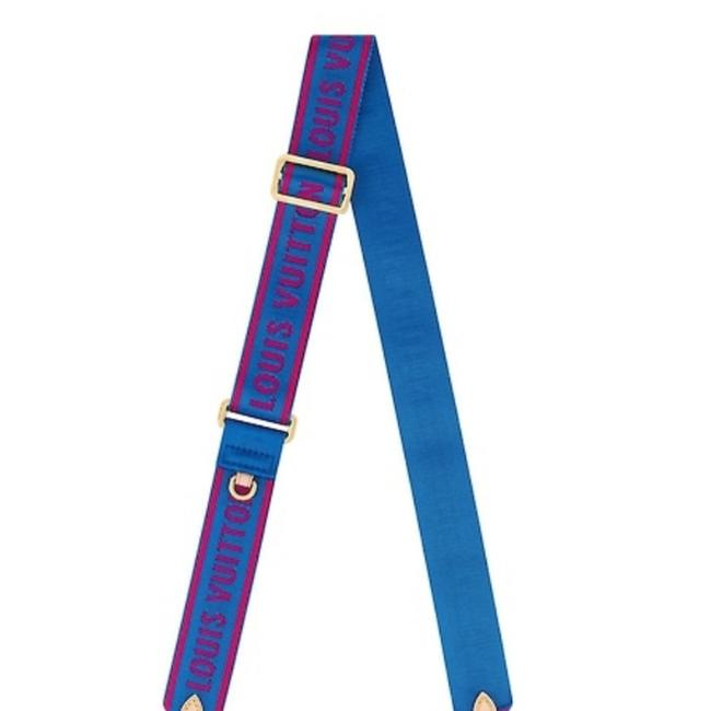 Item - Blue and Red Bandouliere Strap & For Multi Bag Limited Edition