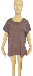 Moving Comfort T Shirt Purple and yellow