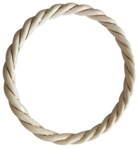 Unbranded Rope Twist & Gold Bangle